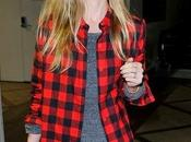 Spotted look rock Kate Bosworth...