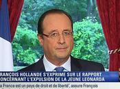 Hollande trouve juste dans l'affaire Léonarda