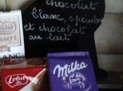 mange quoi demain chocolat blanc, spéculos lait