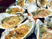 Huîtres chaudes gratinées noisettes