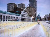 Luminothérapie Quartier spectacles Montréal