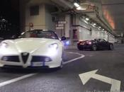 Audi Alfa Romeo moteurs rugissants Monaco