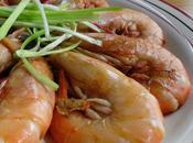 Crevettes sautées sucrées-salées 油焖大虾 yóumèn dàxiā