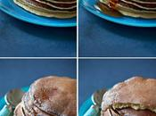 Pancakes fleur d'oranger, rapides faciles