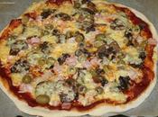 "Pizza ""Reine"" façon Julie Andrieu"