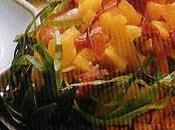 Salade crabe coque d'ananas