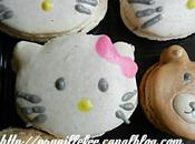 macarons fantaisies Minions, ourson you, hello kitty, cupcakes, mickey, etc...