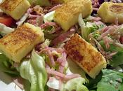 Griesknepfles l'échalote pour salade gourmande