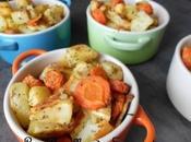 Légumes rôtis panais carottes pomme terre cocotte