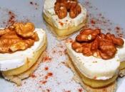 Toasts caprice Dieux/pommes noix