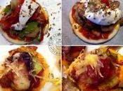 Mini-pizza poireaux-champignons