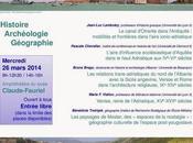 Journée d'études l'espace adriatique histoire, archéologie, géographie mars, Saint-Etienne)
