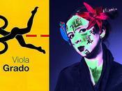 Tiré l'étagère acrylique, laine Viola Grado