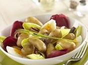 Salade hivernale Ratte Touquet endives
