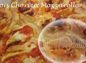 Chinois tomates, Chorizo Mozzarella hermomix pas)