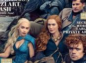 acteurs Game Thrones dans Vanity Fair
