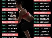 [Astuces] J'ai relevé Days Squat Challenge, vous pouvez aussi!