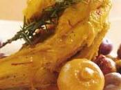 Tajine poulet, olives, fenouil citron