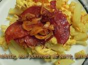 Flaure testé... Omelette chorizo pommes terre