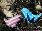 Love Birds pour célébrer l'arrivée printemps