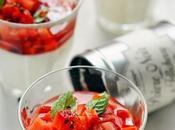 découverte poivre… plutôt poivres Tome Panna cotta fraises