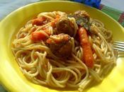 Spaghettis Boulettes Boeuf