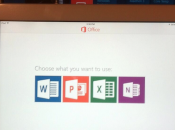 Microsoft Office iPad: copie d'écran fuite Twitter
