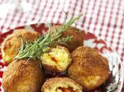 Arrancini fromage coulis tomates