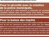 30/03/2014 Rassembler pour Sevran avec Stéphane Gatignon