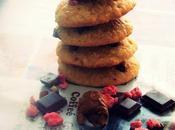 Cookie spéculoos/nutella-pralines concassées
