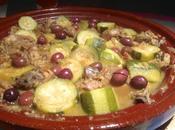 tajine d'agneau courgettes olives cassées