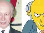 personnages Simpson dans vraie