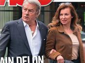 VALERIE TRIERWEILER piégée dans bras d'Alain Delon