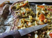 Comme pizza poireaux haddock (spécial recyclage)
