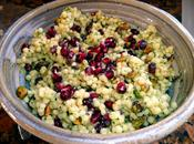 Salade couscous marocain avec graines