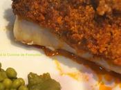 Cabillaud croûte Chorizo