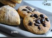 Scones vanille chocolat