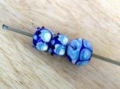 couleur, transparence.... perles filées chalumeau