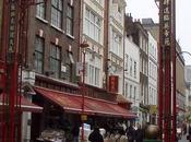 Dans Chinatown Londres, raviolis thés froids aromatisé (Bubble tea)