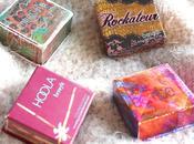 Coralista, Bella Bamba, Rockateur Hoola petites boîtes Benefit