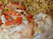 Filet julienne légumes