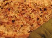 Pizza fruits «mariezza» improvisée vendredi soir