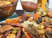couscous marocain dans cuisine marocaine