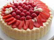 Charlotte fruits rouges recette