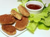 Nuggets végétariens sauce