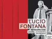 Lucio Fontana: rétrospective Musée d'art moderne Ville Paris