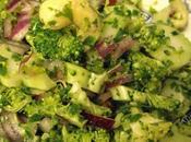 Salade toute crue brocoli