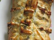 feuilletés salés Feuilleté saumon épinards