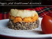 Haggis, plat traditionnel écossais promenade Edimburg