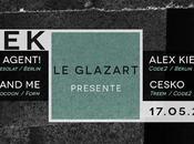 places Sleek avec Agent!, Animal Alex Kiefer Cesko Glazart (Paris)